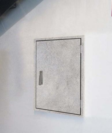 Brandschutztür SECURUS W-APT Granit